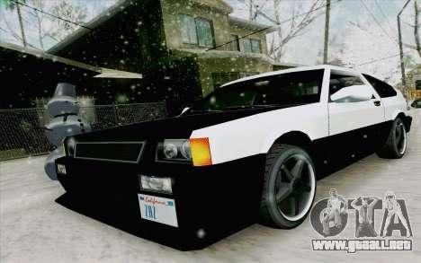 Blista Compact Type R para GTA San Andreas left