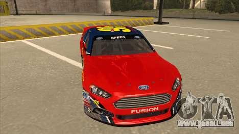Ford Fusion NASCAR No. 95 para GTA San Andreas left