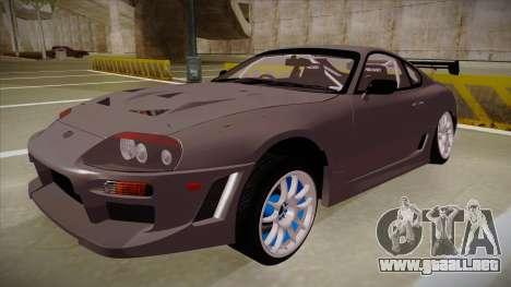 Toyota Supra RZ para GTA San Andreas