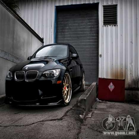 Pantalla de arranque de BMW para GTA 4 octavo de pantalla