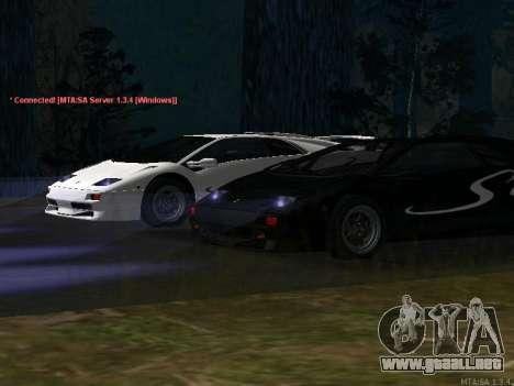 Lamborghini Diablo SV v2 para GTA San Andreas left