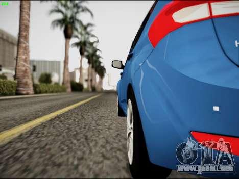 Hyundai ix20 para la visión correcta GTA San Andreas