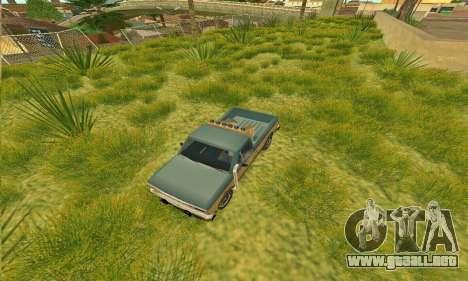 Armadura todoterreno Bobcat para la visión correcta GTA San Andreas