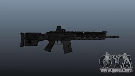 Fusil SIG SG 751 v1 para GTA 4 tercera pantalla