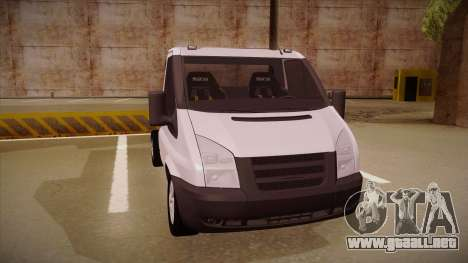 Ford Transit Drift Car para GTA San Andreas left