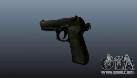 Pistola Beretta M9 para GTA 4 segundos de pantalla