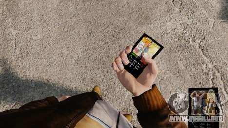 El tema de los personajes principales de GTA 5 para GTA 4 tercera pantalla