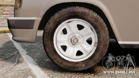 Volga GAZ-3110 Coupe para GTA 4 vista hacia atrás
