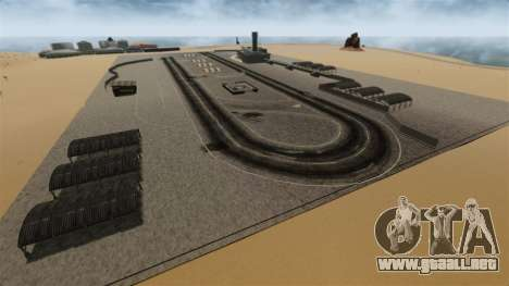 Destino ciudad desierta para GTA 4 tercera pantalla