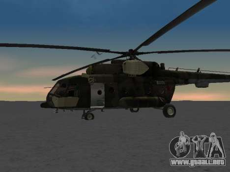 MI-8 para vista inferior GTA San Andreas
