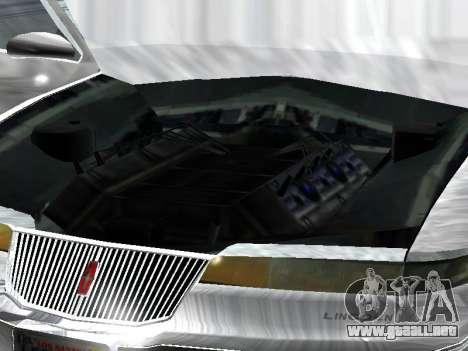 Lincoln Continental Mark VIII 1996 para la visión correcta GTA San Andreas