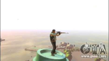 Rifle de francotirador Dragunov para GTA 4 tercera pantalla