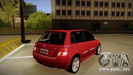 FIAT Stilo Sporting 2009 para la visión correcta GTA San Andreas
