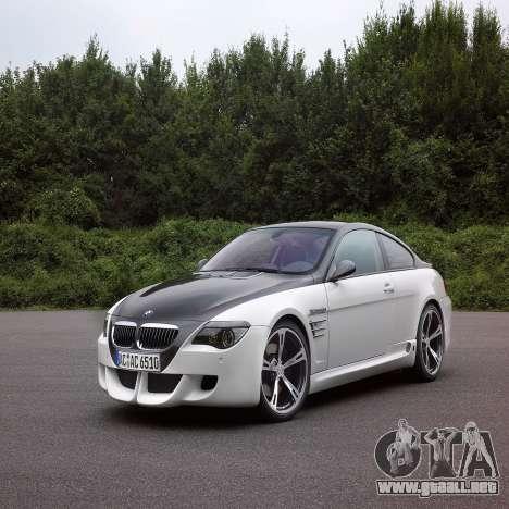 Pantalla de arranque de BMW para GTA 4 sexto de pantalla