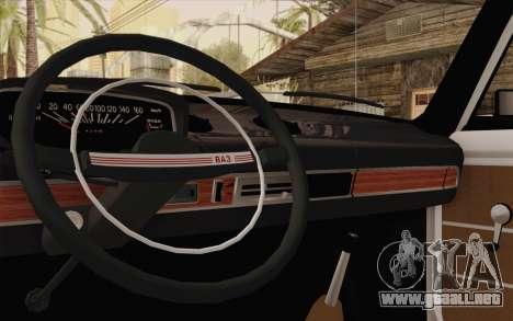 VAZ 21011 asistencia médica para visión interna GTA San Andreas