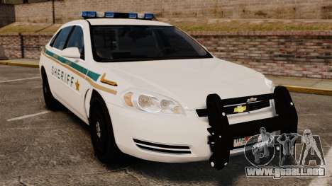 Chevrolet Impala BCSD 2010 [ELS] para GTA 4