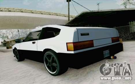 Blista Compact Type R para la visión correcta GTA San Andreas