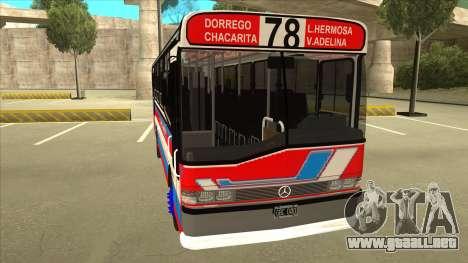 Mercedes-Benz OHL-1320 Linea 78 Los Andes para GTA San Andreas left