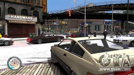 Map-Radar-HUD Pack para GTA 4 sexto de pantalla