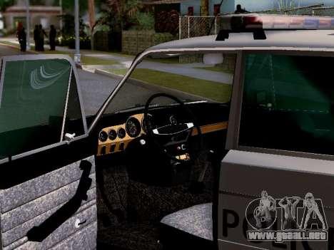 Policía de Los Santos 2106 VAZ para el motor de GTA San Andreas