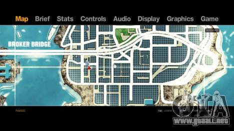 Map-Radar-HUD Pack para GTA 4 tercera pantalla