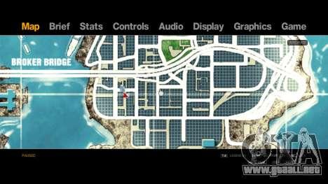 Map-Radar-HUD Pack para GTA 4 tercera pantalla