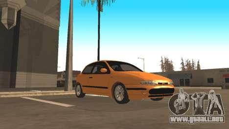 Fiat Bravo 16v para GTA San Andreas vista hacia atrás