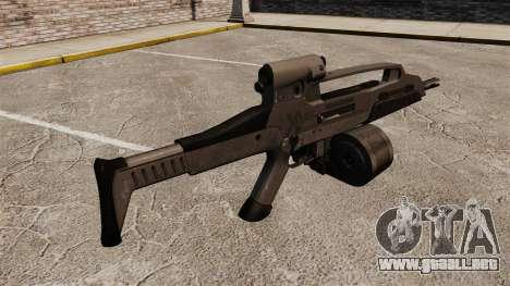 Automático HK XM8 v3 para GTA 4 segundos de pantalla