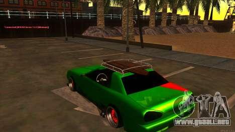 Elegy New Year for JDM para la visión correcta GTA San Andreas