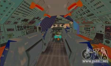 Andromada GTA V para las ruedas de GTA San Andreas