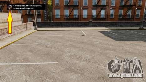 Nuevo icono para el ahorro para GTA 4 segundos de pantalla