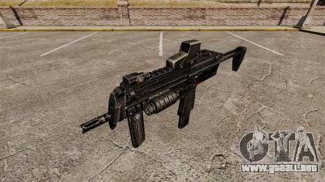 HK MP7 subfusil ametrallador v1 para GTA 4 tercera pantalla