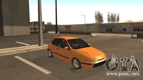 Fiat Bravo 16v para GTA San Andreas left