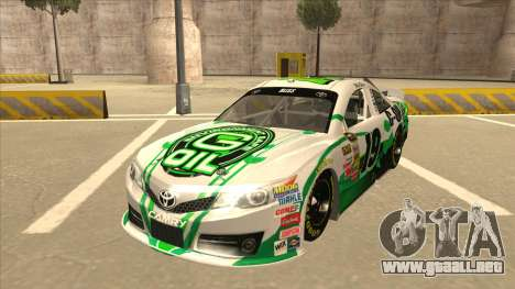 Toyota Camry NASCAR No. 19 G-Oil para GTA San Andreas