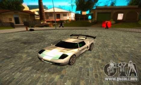 Bullet GT32 Big Spoiler para GTA San Andreas