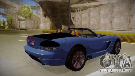 Dodge Viper v1 para la visión correcta GTA San Andreas