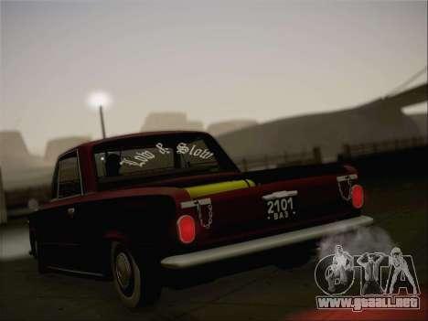 VAZ 2101 Resto para GTA San Andreas interior