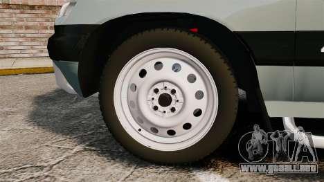Vaz-2123 v1.1 para GTA 4 vista hacia atrás