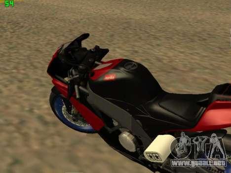 Aprilia RS50 para la visión correcta GTA San Andreas