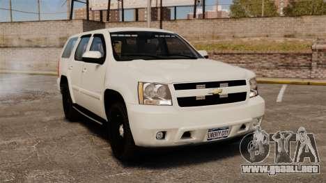 Chevrolet Tahoe Slicktop [ELS] v1 para GTA 4