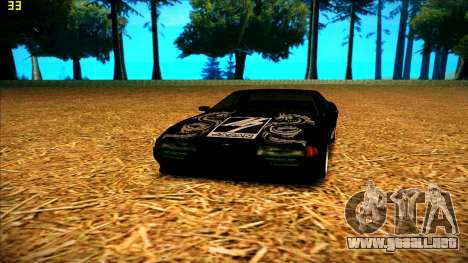 New paintjob for Elegy para GTA San Andreas sucesivamente de pantalla