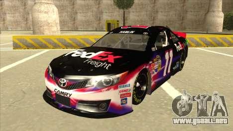 Toyota Camry NASCAR No. 11 FedEx Freight para GTA San Andreas