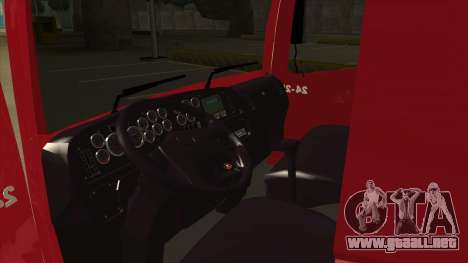 Volkswagen Constellation 24.250 para visión interna GTA San Andreas