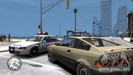 Map-Radar-HUD Pack para GTA 4 quinta pantalla