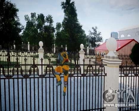 Gordon Freeman para GTA 4 novena de pantalla