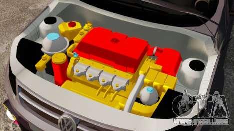Volkswagen Gol Rally 2012 Socado Turbo para GTA 4 vista interior