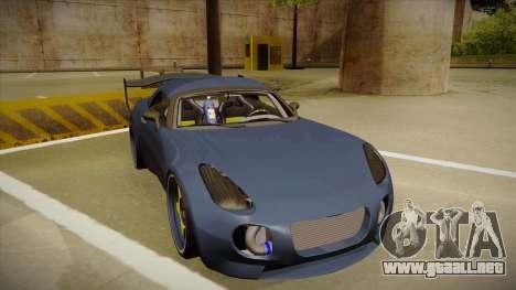 Pontiac Solstice Rhys Millen para GTA San Andreas left