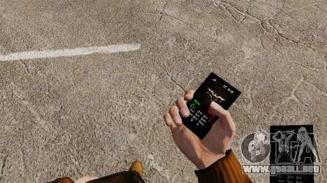 El caballero oscuro tema para tu teléfono para GTA 4