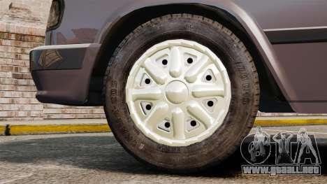 Volga GAZ-3110 para GTA 4 vista hacia atrás