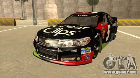 Chevrolet SS NASCAR No. 5 Great Clips para GTA San Andreas